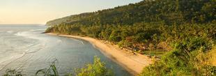 La plage du Jeeva Klui Resort