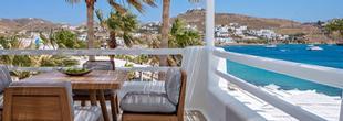 séjour au Mykonos Blanc plage d'Ornos