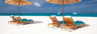 The Sun Siyam Iru Fushi vous permet de profiter de la plage