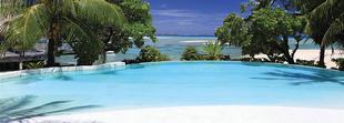 La piscine du Tikehau Pearl Beach Resort