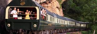 Vue du train Eastern & Oriental Express de Singapour à Bangkok