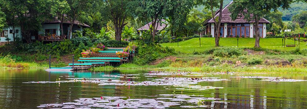 Hôtel au lac Inle : Villa Inle Resort & Spa