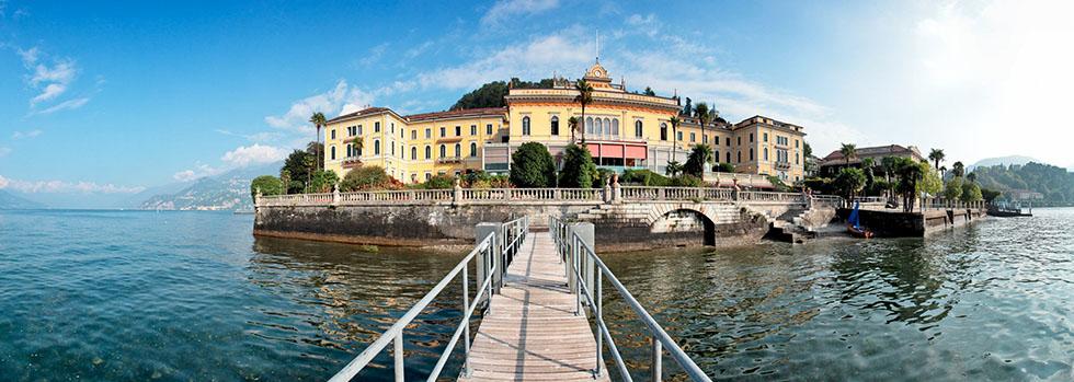La Villa Serbelloni situé sur le Lac de Côme