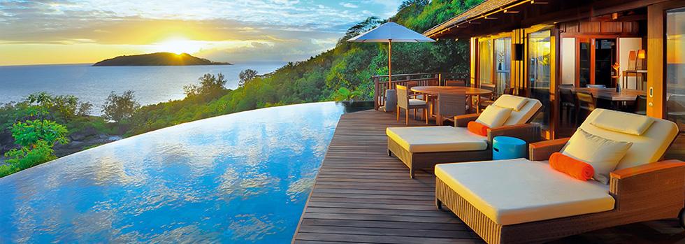 Hôtel aux Seychelles : Constance Ephélia Villas