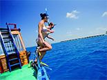 Vivez votre voyage de noce grâce aux plongées que propose le Coco Bodu