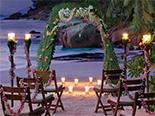 mariage au Four Seasons Resort Seychelles