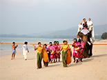 Cérémonie de Mariage avec éléphant au Sarojin
