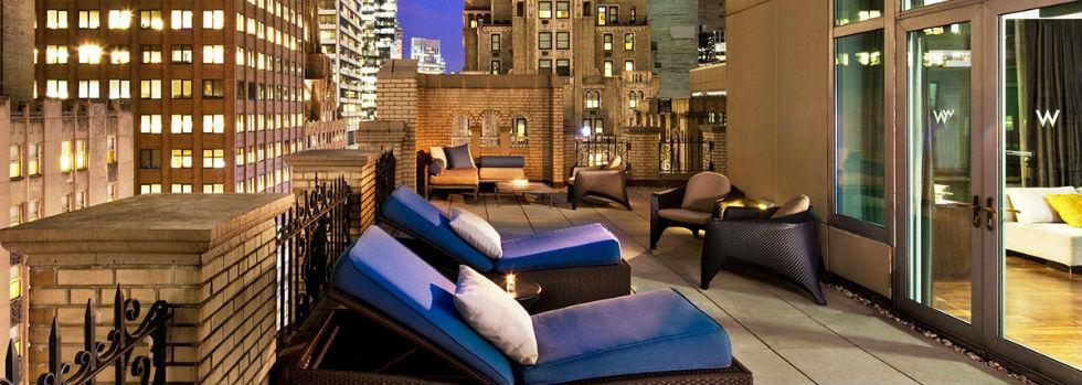 L'hôtel W New York