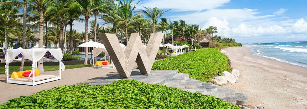 W Retreat & Spa Bali : un hôtel branché à Seminyak