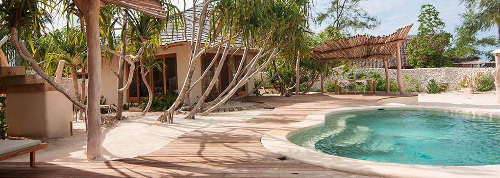la piscine du White Sand Luxury Villas & Spa à Zanzibar