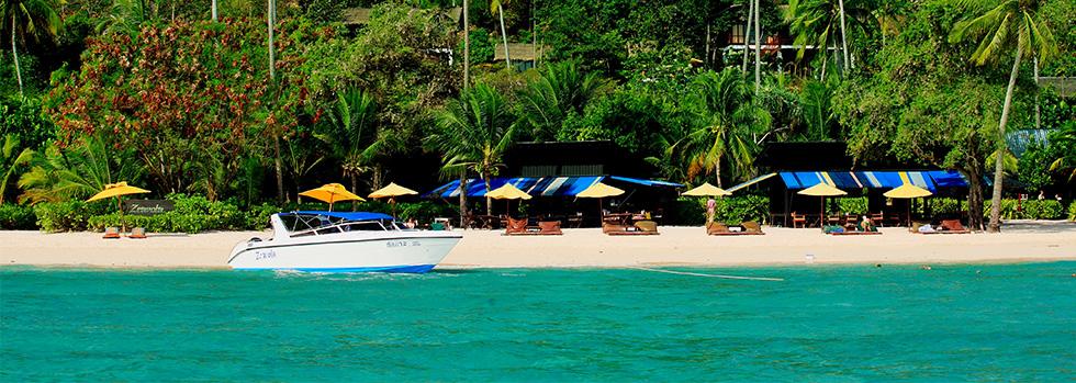 La plage du Zeavola Resort & Spa